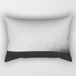 black 00 (edited) Rectangular Pillow