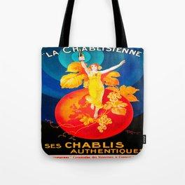 Vintage poster - La Chablisienne Tote Bag