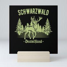 Schwabe Schwarzwald Deutschland Hirsch Schwaben Mini Art Print