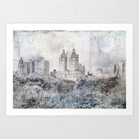 City Escape Art Print