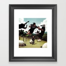 Kiwiana Framed Art Print