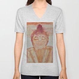 The faded Buddha Unisex V-Neck