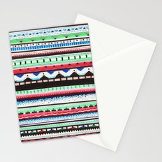 Pattern Doodle Three Stationery Cards