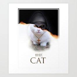 The Cat Nun Art Print
