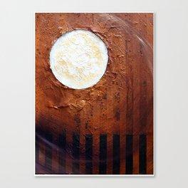 luna deserta Canvas Print