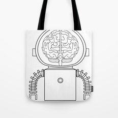 RobotSpaceBrain Tote Bag