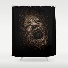 SOCIETY  Shower Curtain