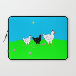 Hens and eggs Laptop Sleeve