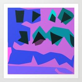 Purple Purple Art Print