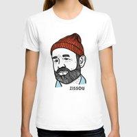 steve zissou T-shirts featuring Zissou by Daniel Feldt