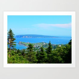Bonaventure Island Art Print