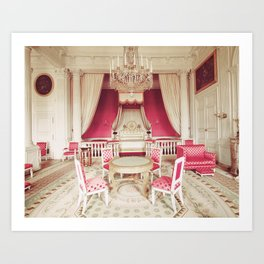 Princess Pink Chambers Art Print