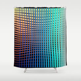Spec Trum Grad Shower Curtain