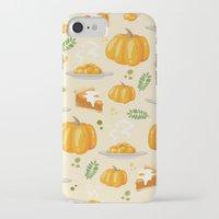 pumpkin iPhone & iPod Cases featuring pumpkin by Ceren Aksu Dikenci