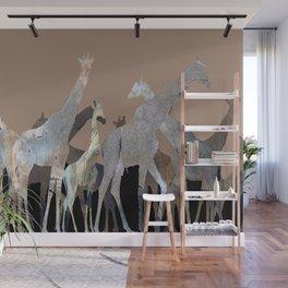 Girafes Wall Mural