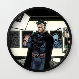 In the Batcave Wall Clock