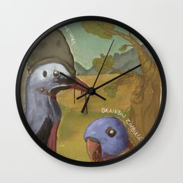 Post-Apocalyptic Australiana Wall Clock