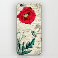 romantic iPhone & iPod Skins featuring Romantic by Susann Mielke
