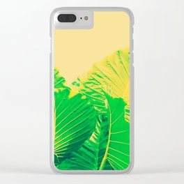 Memory of summer Clear iPhone Case