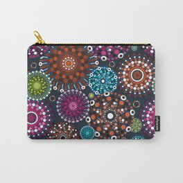 Mandala Dots Carry-All Pouch