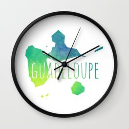 Guadeloupe Wall Clock