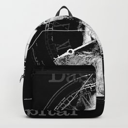 The Time of Marx Dark Backpack