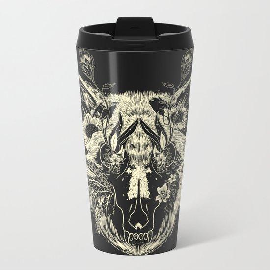 Wild Heart Metal Travel Mug