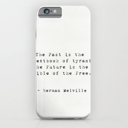 Herman Melville quote 16 iPhone Case