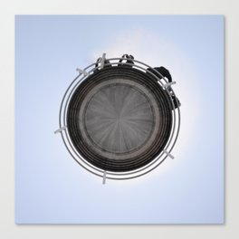 Small Planet Canvas Print