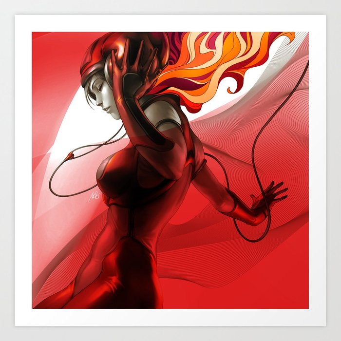 Discover the motif PEPPER GROOVE by Stanley Artgerm Lau as a print at TOPPOSTER