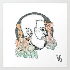 /// B /// Art Print