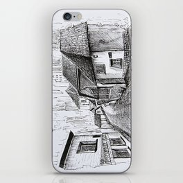 Architecture Sketch, Germany iPhone Skin