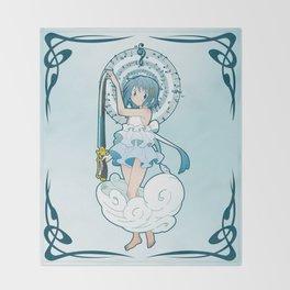 Sayaka Miki - Nouveau edit. Throw Blanket