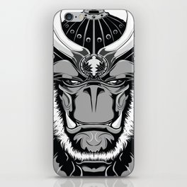 Savage Society: Gorilla Samurai iPhone Skin