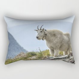 The Ups and Downs of Being a Mountain Goat No. 2b Rectangular Pillow