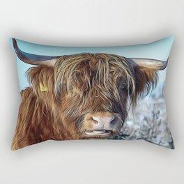 Beef Fur Livestock Rectangular Pillow