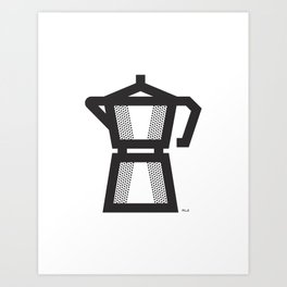 Moka Art Print