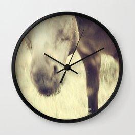 Munching Out Wall Clock