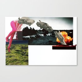 Crash and Burn Canvas Print