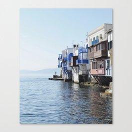 Little Venice - Mykonos Canvas Print