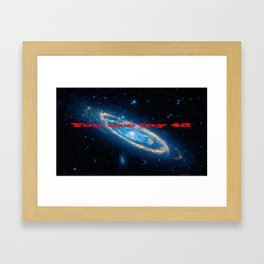 You are the Answer to the Ultimate Question... Framed Art Print