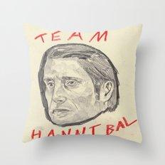Team Hannibal Throw Pillow