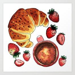 Breakfast, maybe! Art Print