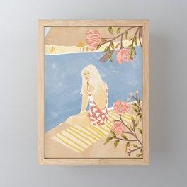 Summer Hiding Framed Mini Art Print