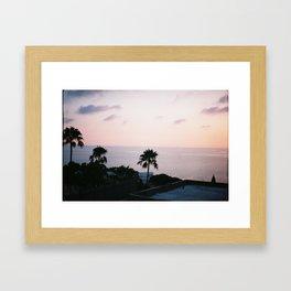 Beautiful Tunisian sunrise  Framed Art Print