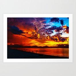 Bay of Danang Art Print