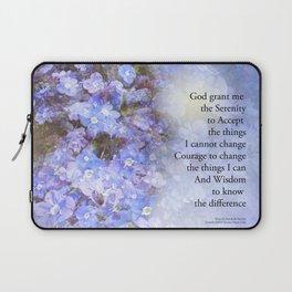 Serenity Prayer Veronica Laptop Sleeve