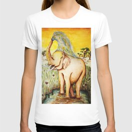 Elephant Bath  T-shirt