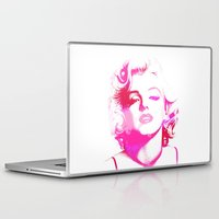monroe Laptop & iPad Skins featuring Monroe by Laura Maria Designs