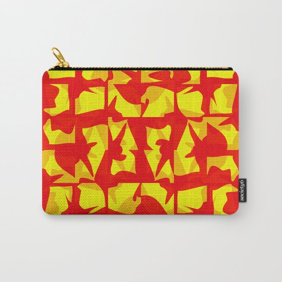 red shapes Carry-All Pouch